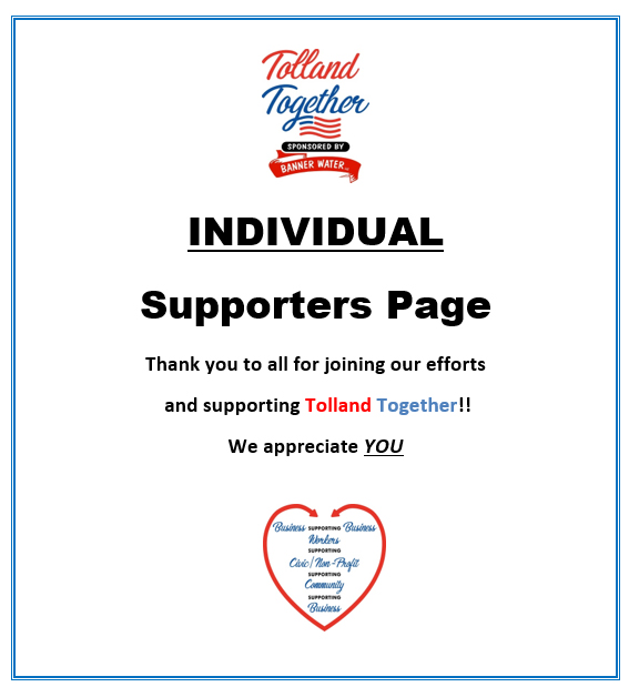 Tolland Together - Banner Water